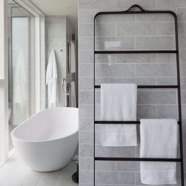 New Bath Hardware from Norm Architects The Towel Ladder and More portrait 4