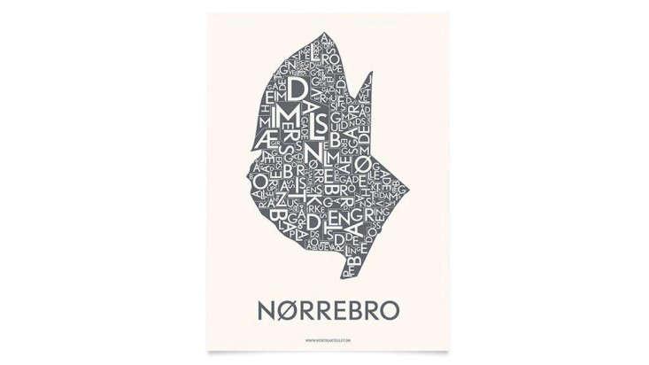Danish Love Typographic City Posters  portrait 8