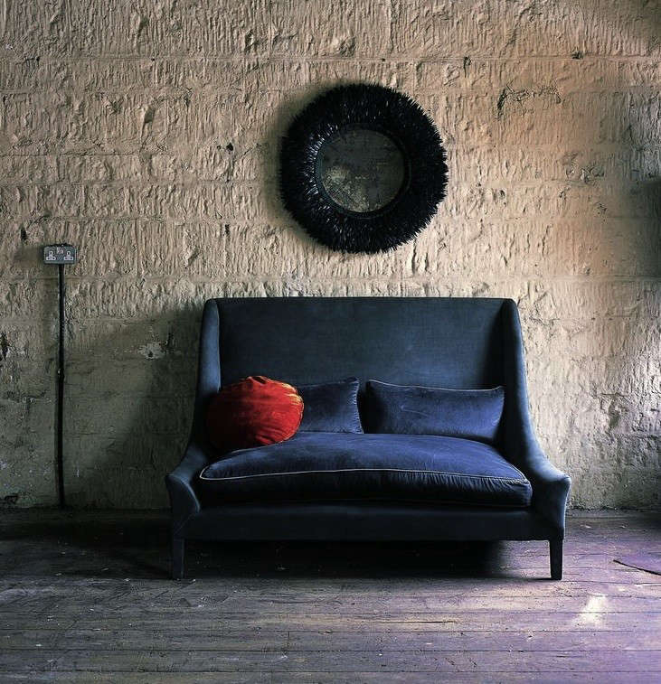 10 Easy Pieces The Blue Velvet Sofa Luxe Edition portrait 3