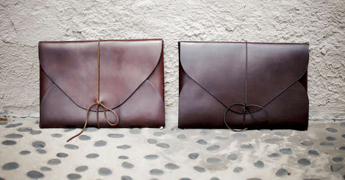 Office Gift Guide Leather Ipad Case
