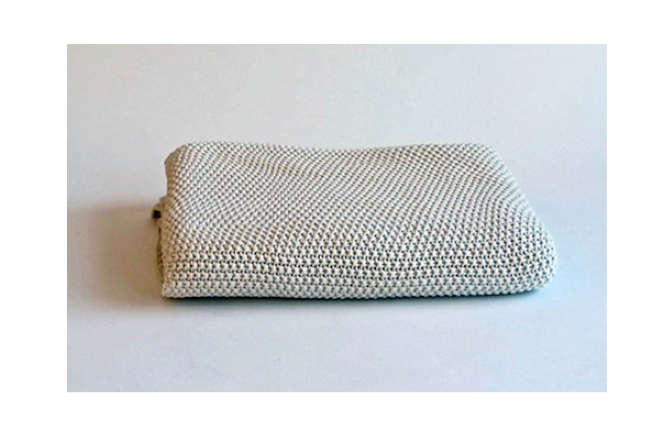 Olmay Home Cotton Moss Stitch Blanket
