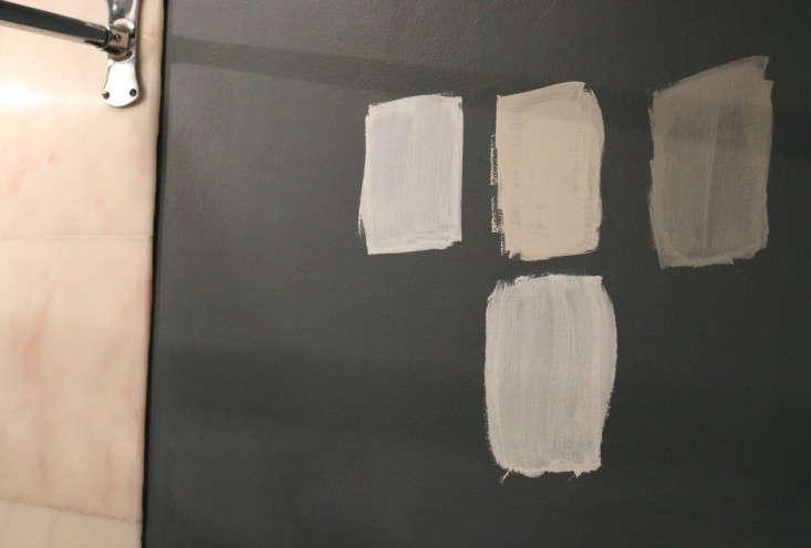 Painting Bathroom from Black to White Meredith Swinehart Remodelista 9