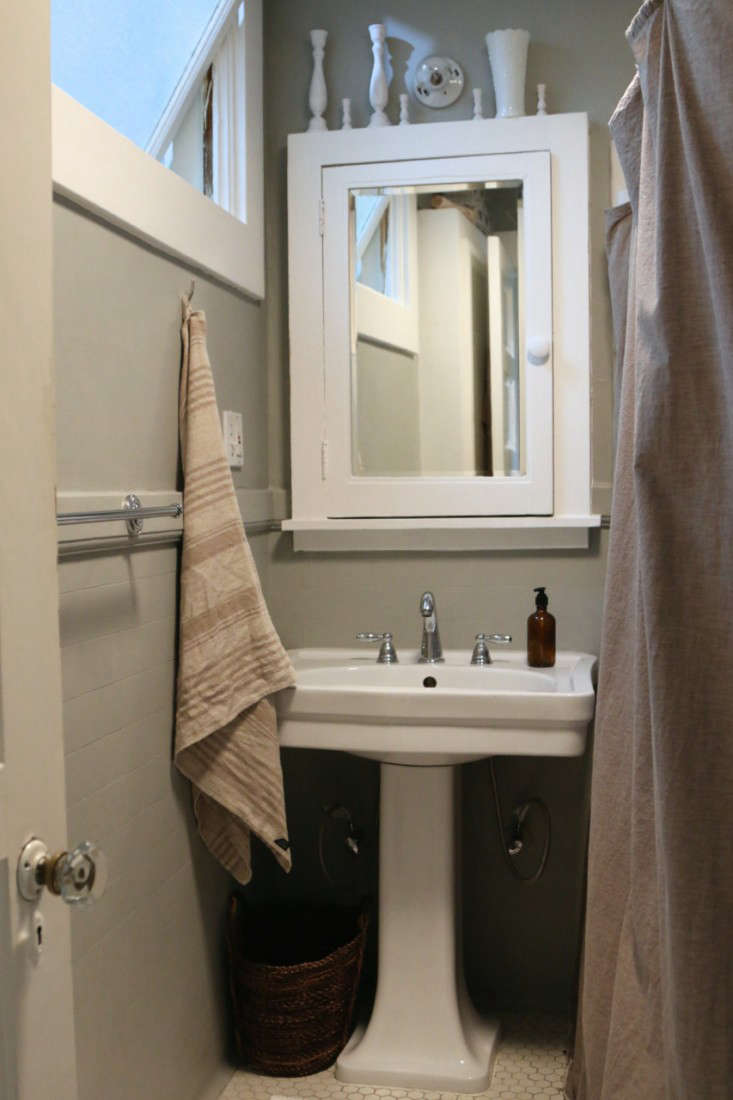 Painting the bathroom gray meredith swinehart 3