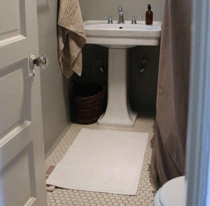Painting the bathroom gray meredith swinehart 4