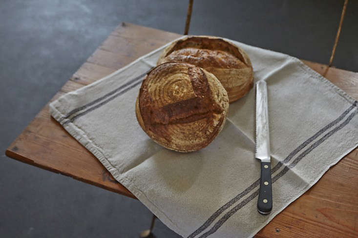 Parkside Holiday Table bread photography Julia Spiess Remodelista