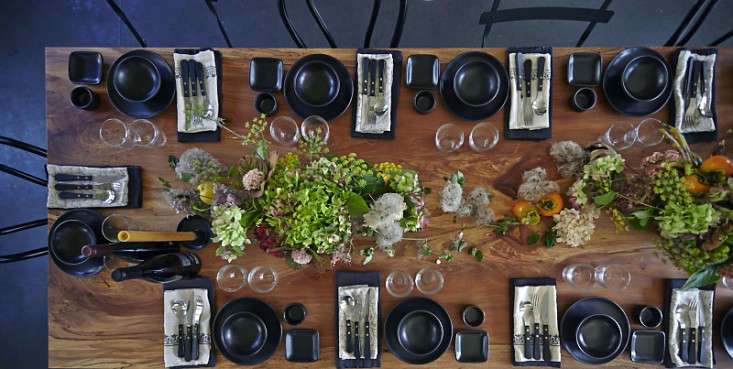 Parkside Holiday Table spread photography Julia Spiess Remodelista
