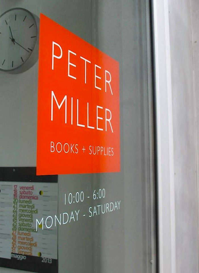 Peter miller Books Window