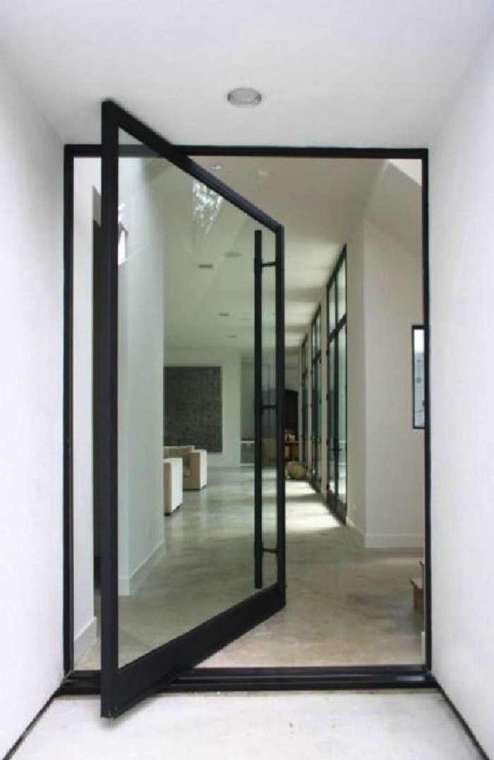 Pivot Door Roundup Architect Visit