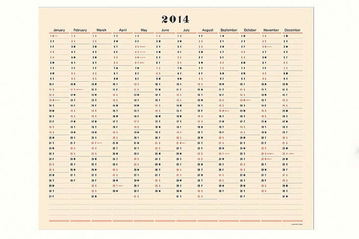 Postalco 0ne Year Wall Calendar