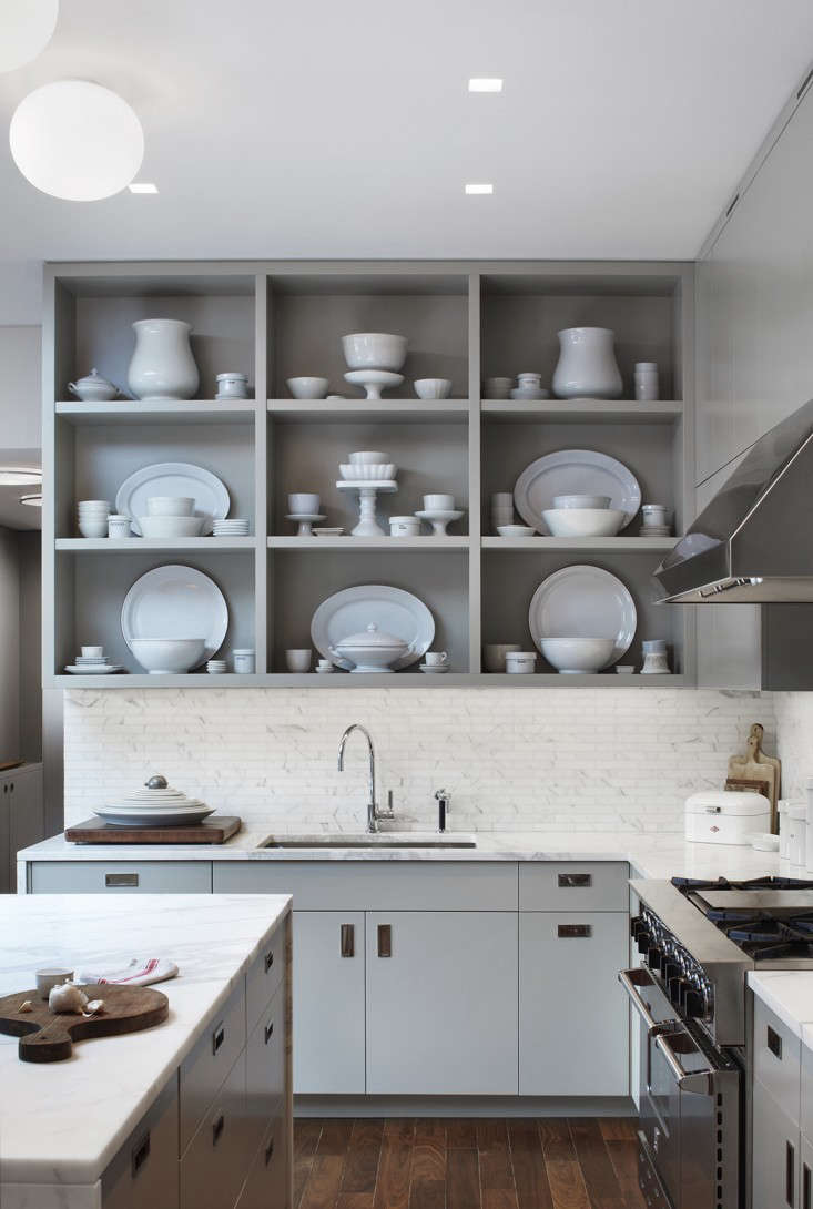 This TriBeCa kitchen by Melissa Baker and Jon Handley of Pulltab Designappears to be void of outlets. &#8