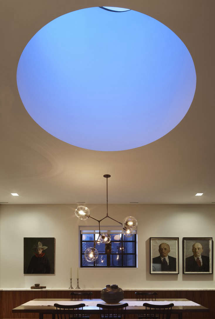 The Architect Is In A Skylight Like a Moon in Tribeca portrait 11