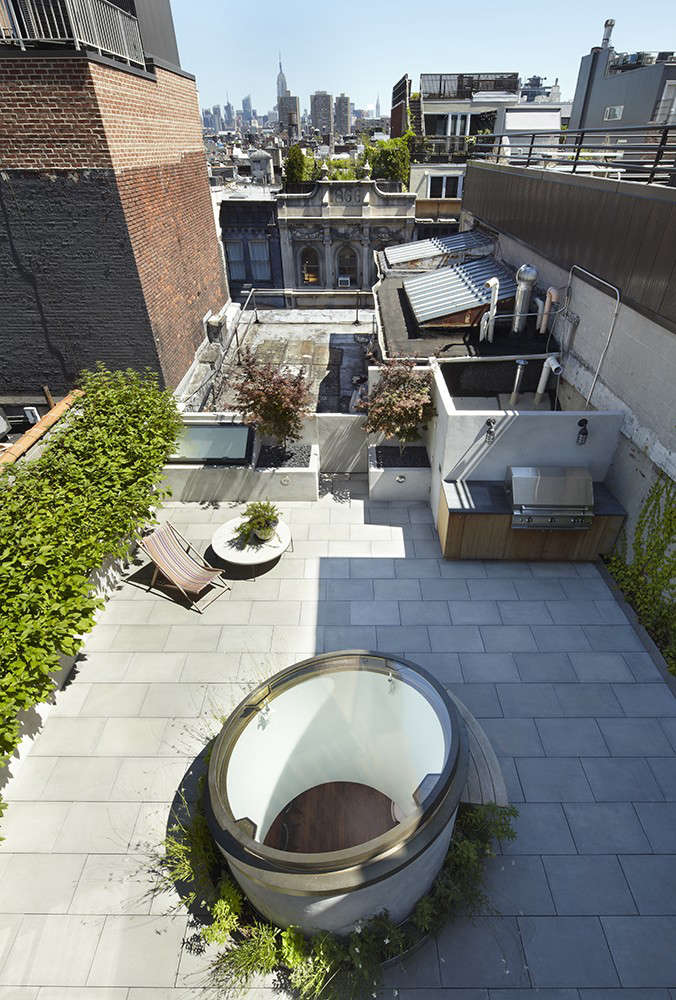 The Architect Is In A Skylight Like a Moon in Tribeca portrait 18