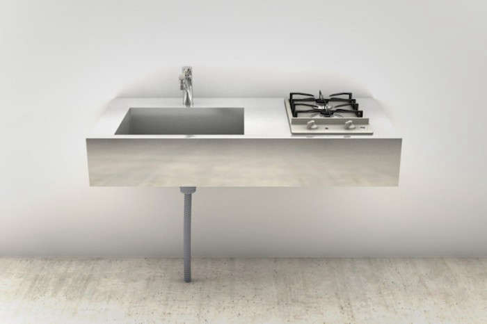 la Carte Kitchen Components Tiny Apartment Edition R Toolbox Tokyo Stainless Sink Cooktop