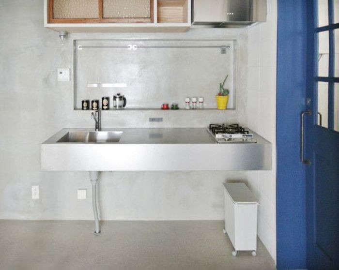 la Carte Kitchen Components Tiny Apartment Edition R Toolbox Tokyo Stainless Steel Kitchen