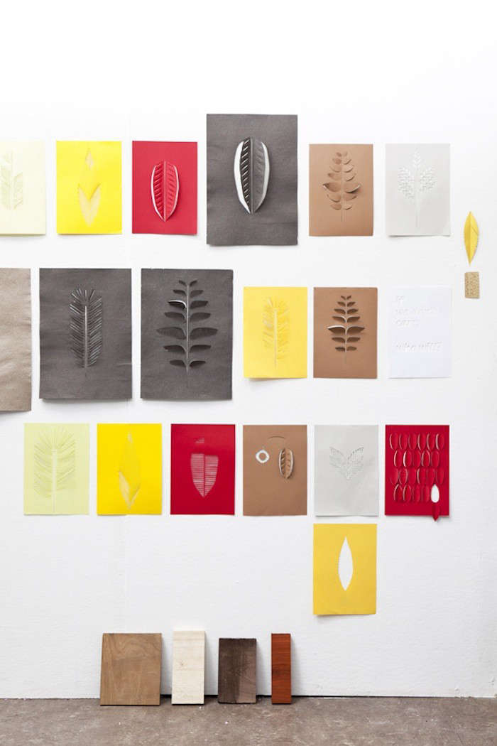 Raw Color Paper Shades 06