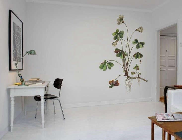 Rebel Walls Wallpaper Botanica Oxalis 02 Remodelista