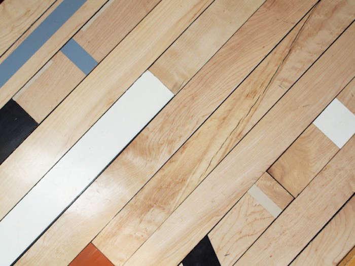 la Carte Kitchen Components Tiny Apartment Edition Reclaimed Gym Flooring