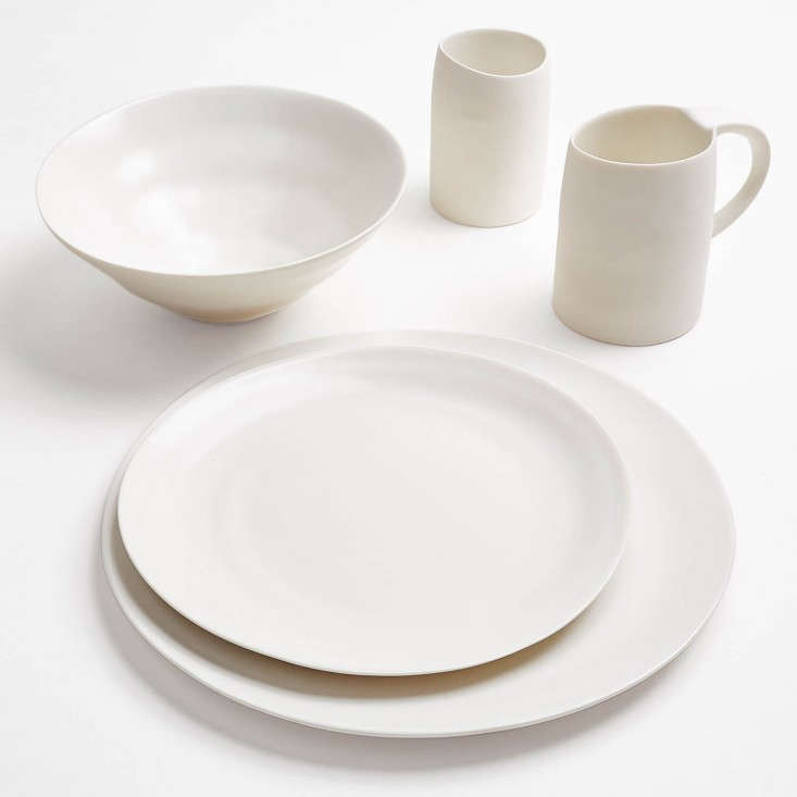 Ripple White Dinnerware abc home