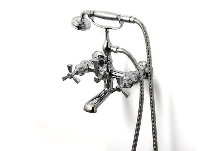 Roadster Wall Mounted Tub Filler