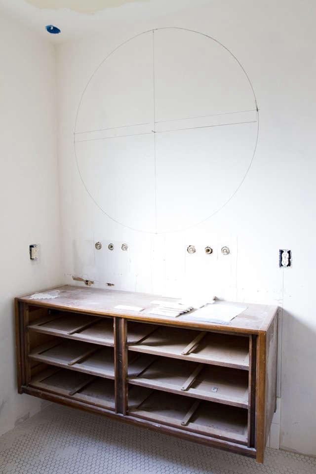 Sarah Sherman Samuel Smitten Studio bathroom remodel in progress Remodelista 3