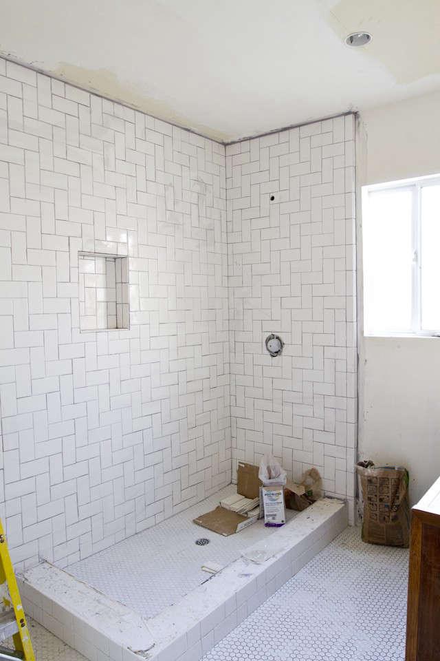 Sarah Sherman Samuel Smitten Studio bathroom remodel in progress Remodelista 5