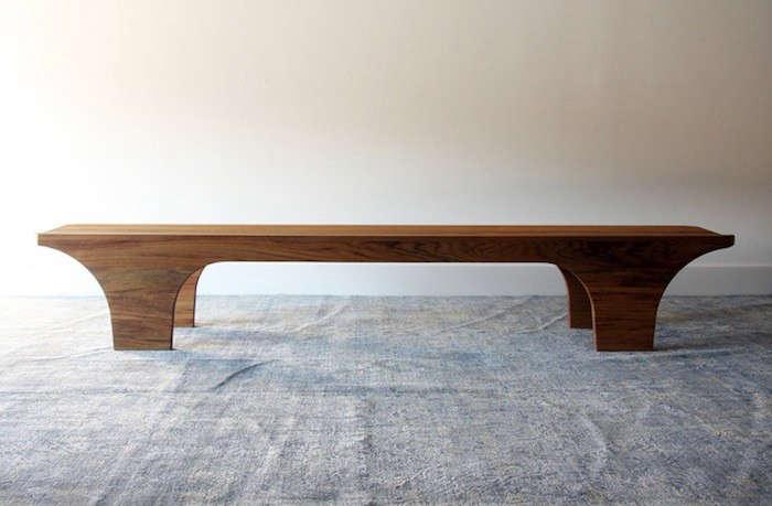 Scoop Bench Henrybuilt Furniture