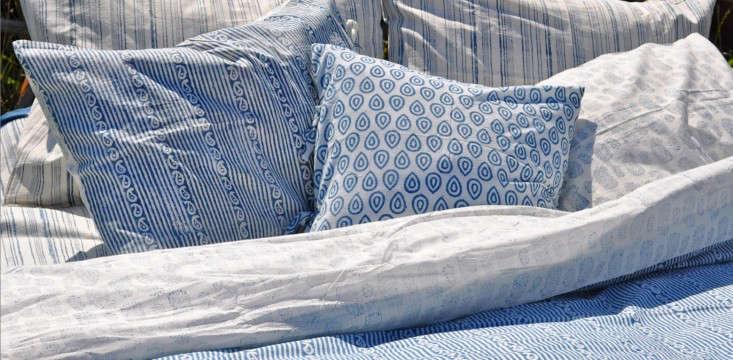 HandBlocked Bedding from India portrait 4