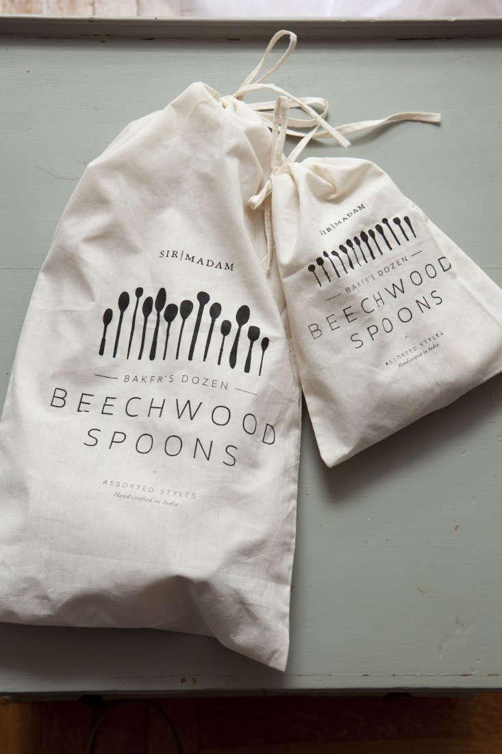 Sir Madam wooden spoon packaging Remodelista