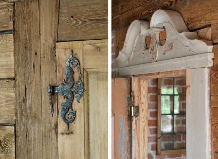 Slavinia Lodge Door Details