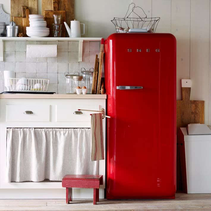 West Elm is currently offeringSmeg Refrigerators in loading=