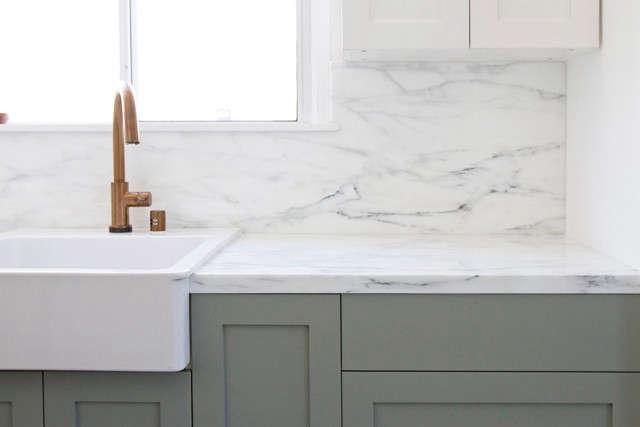 Smitten Studio Kitchen Remodel Remodelista Marble Countertop Marble Countertops White Marble Countertops