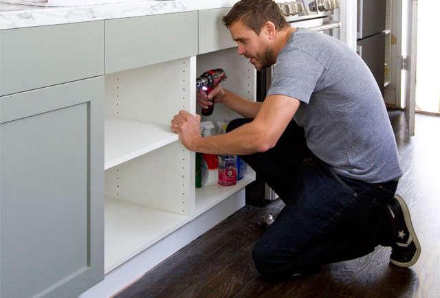 Smitten Studio kitchen remodel cabinet assembly Remodelista