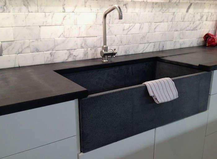 soapstone countertop sink m teixeira remodelista soapstone 18
