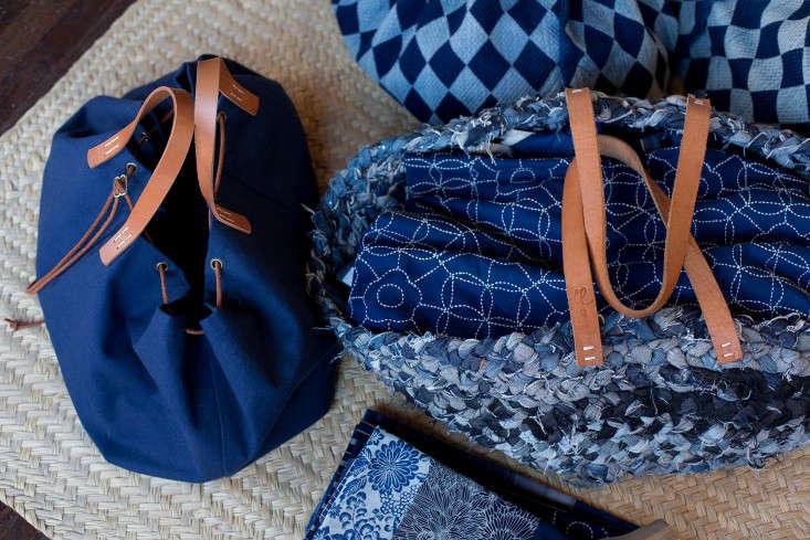 St Co indigo bags 0