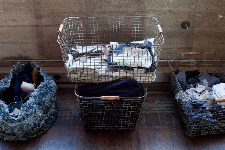 St Co vintage wire baskets