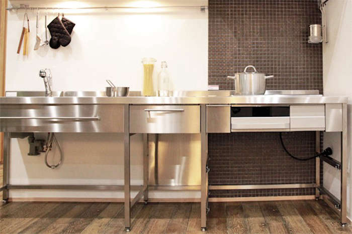 la Carte Kitchen Components Tiny Apartment Edition Stainless Steel Frame from R Toolbox