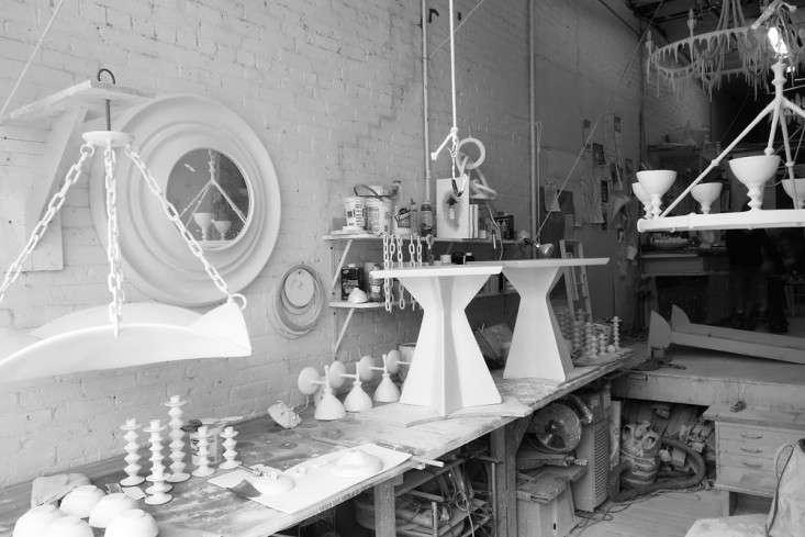 The Master of Plaster Stephen Antonsons Sculptural Lighting portrait 13
