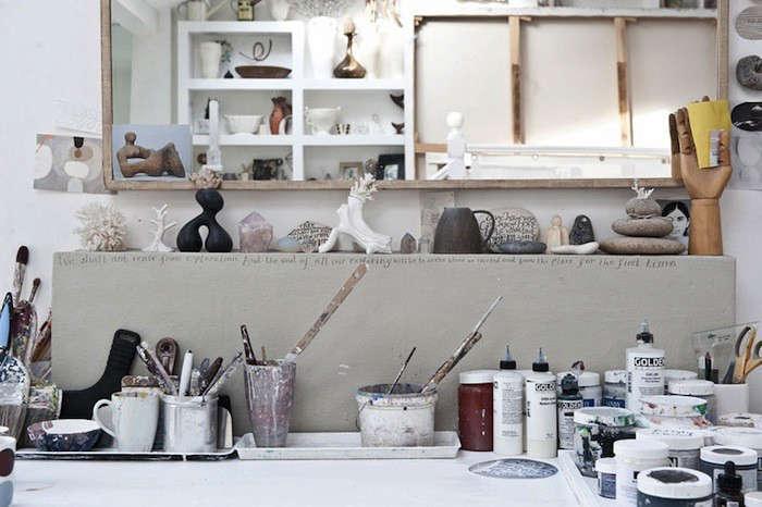 A London Artist at Home portrait 6