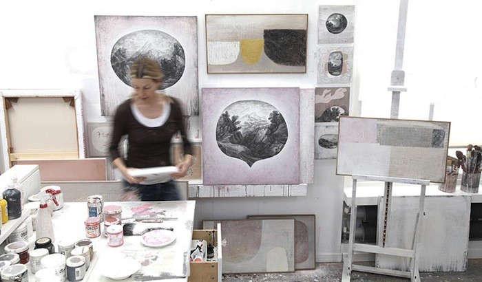 A London Artist at Home portrait 4