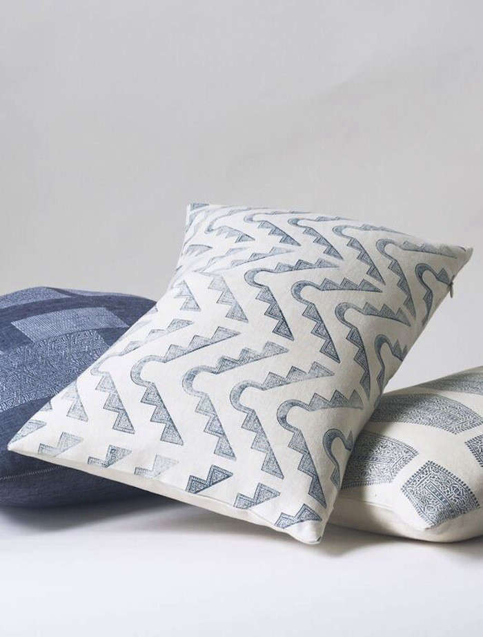 Brooklyn HandPrinted Pillows and Throws by Susan Connor  portrait 5