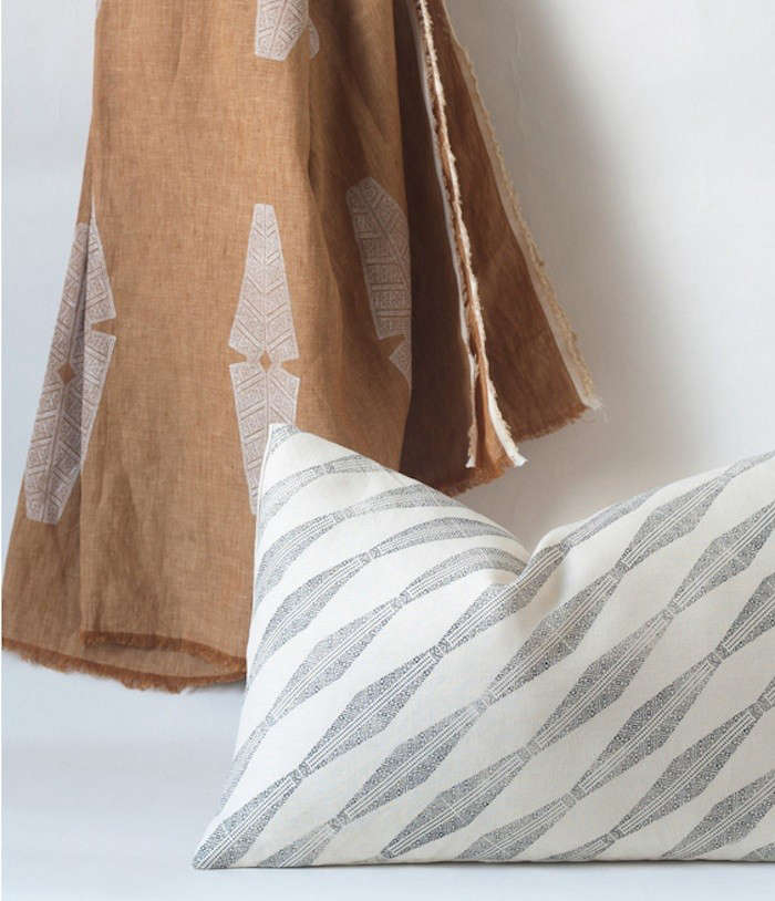 Brooklyn HandPrinted Pillows and Throws by Susan Connor  portrait 8