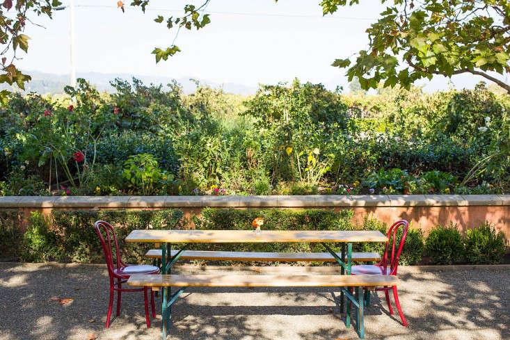Swanson Vineyard outdoor garden