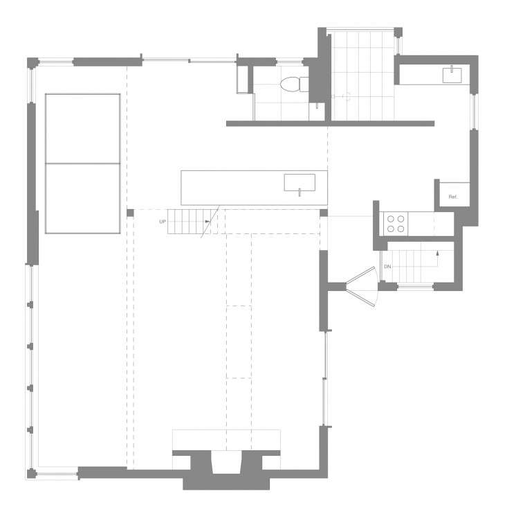 The New Pioneers An Architects OneRoom Family House portrait 23