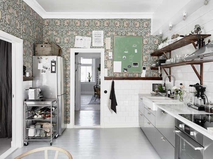 Kitchen of the Week An Industrial Yet Romantic Swedish Kitchen portrait 7