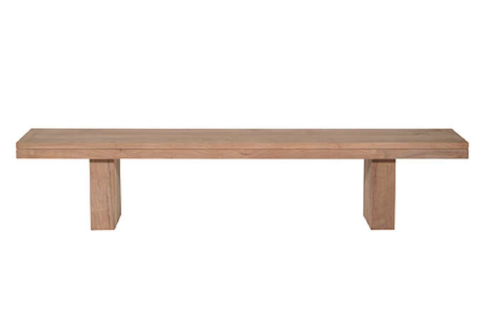 10 Easy Pieces Backless Wooden Dining Benches portrait 10