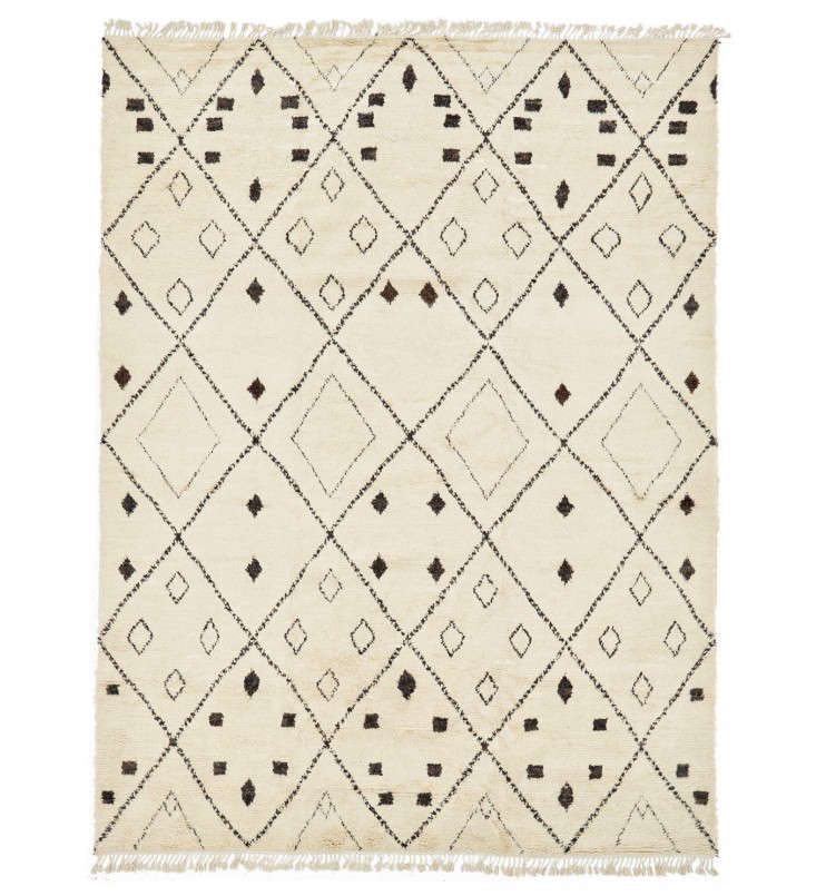 Textured Wool Rug abc home remodelista