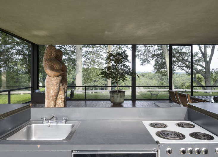 14 Lessons in Minimalism from the Glass House portrait 10