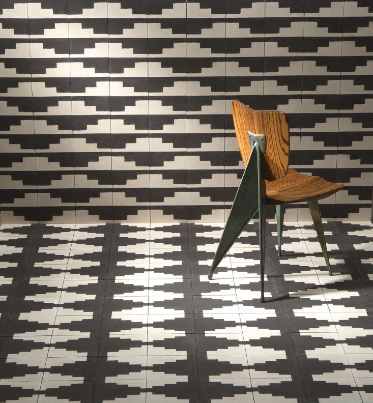 The Native Collection cement tiles by Commune for Exquisite Surfaces Remodelista 1