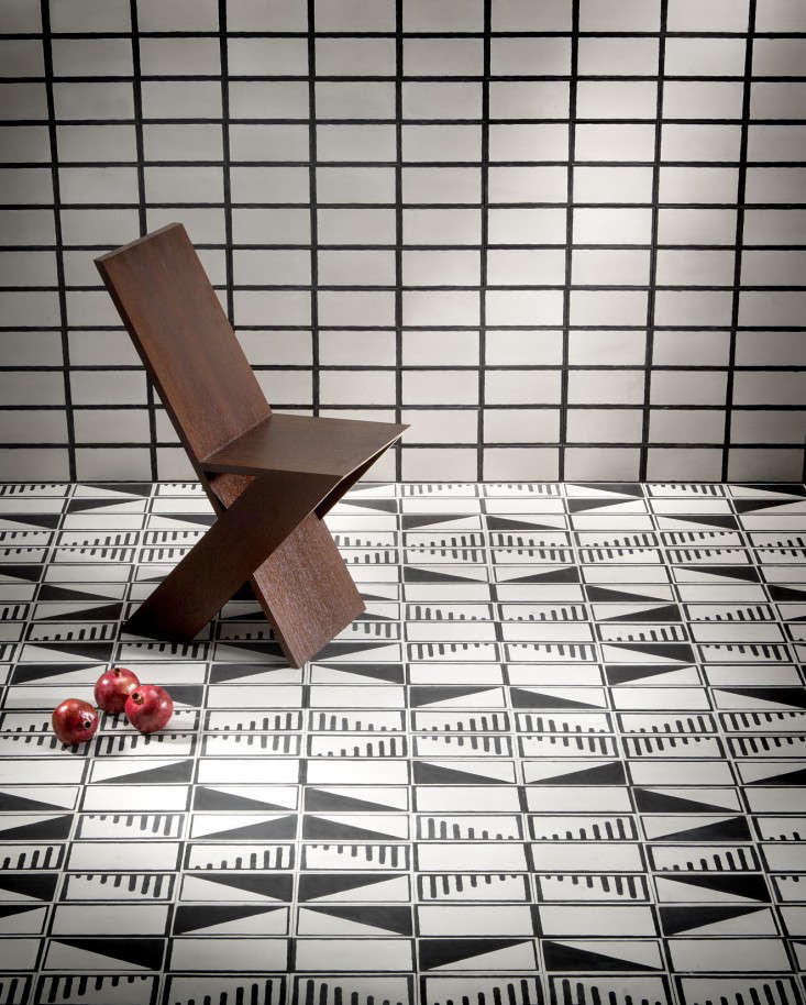 The Native Collection cement tiles by Commune for Exquisite Surfaces Remodelista 2