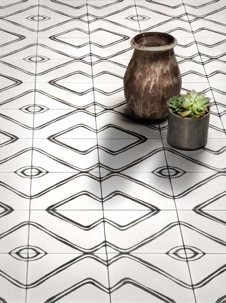 The Native Collection cement tiles by Commune for Exquisite Surfaces Remodelista 4